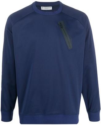 Givenchy Zip Pocket Sweatshirt