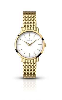 Accurist Womens Analogue Classic Quartz Watch with Stainless Steel Strap 8160.01