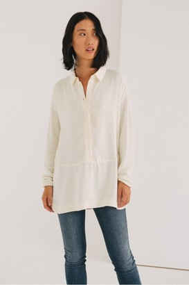 Sita Murt Combined Fabric Shirt - 8