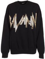Balmain Heavy Metal Logo Sweatshirt