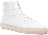 Givenchy Knots High Top Leather Sneakers