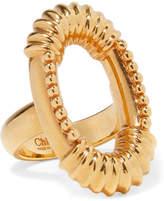 Chloé Gold-tone Ring - 54