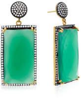 6th Borough Boutique Emerald Ella Earrings
