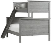 Pottery Barn Kids Charlie Bunk Bed, Twin over Full, Smoked Charcoal