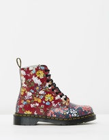 Dr. Martens Pascal Floral Clash 8-Eye Boots