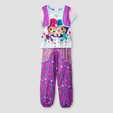 Shimmer and Shine Girls' Shimmer and Shine Nightgown - Purple