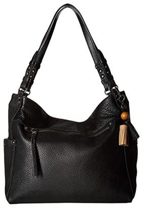 The Sak La Mesa 4 Poster Tote (Black) Tote Handbags