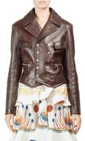 Chloé Double Breasted Biker Jacket