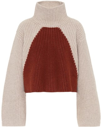KHAITE Marianna high-neck cashmere sweater