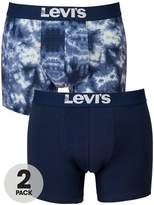 Levi's Levis 2pk Tie Dye Boxer
