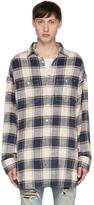 R 13 Multicolor Plaid Axl Shirt