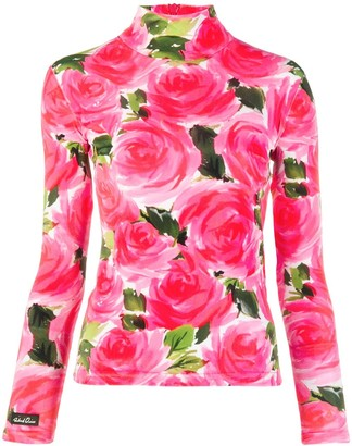 Richard Quinn Floral Print Top