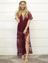 West Coast Wardrobe Sahara Maxi Dress in Wine