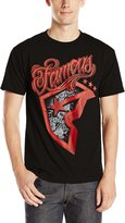 Famous Stars & Straps Men's Famous Patches Graphic T-Shirt