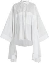 Palmer Harding PALMER/HARDING Poet patch-pocket cotton-blend shirt