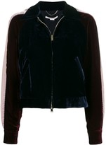 Stella McCartney velvet bomber jacket