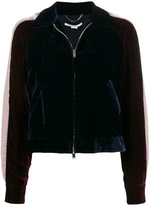 Stella McCartney Velvet Bomber Jacket