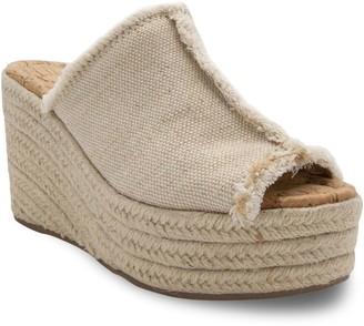 Sugar Helper Women's Platform Espadrille Sandals