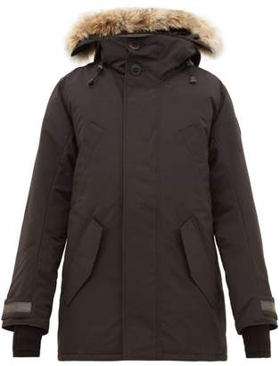 Canada Goose Edgewood Hooded Down Filled Parka - Mens - Black