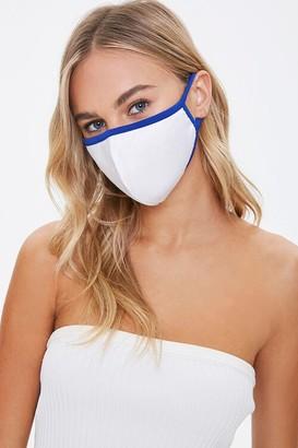 Forever 21 Contrast-Trim Face Mask