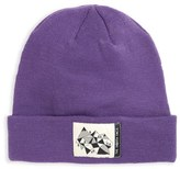 The North Face Girl's 'Dock Worker' Knit Beanie - Purple