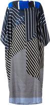 Pierre Louis Mascia Pierre-Louis Mascia - striped oversized dress - women - Silk - One Size