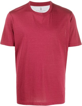 Brunello Cucinelli relaxed-fit short-sleeved T-shirt