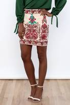 Endless Rose Embroidered Bohemian Skirt