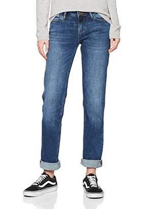 Cross Jeanswear Co. Cross Jeans Women's Rose Straight Jeans, (Dark Mid Blue 056), W33/L34 (Size: 33/34)