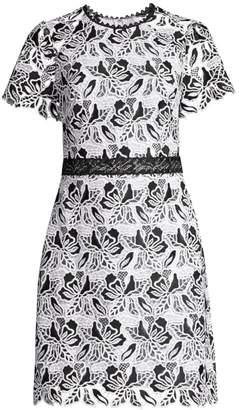 Shoshanna Astraea Lace Sheath Dress