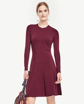 Ann Taylor Flare Sweater Dress