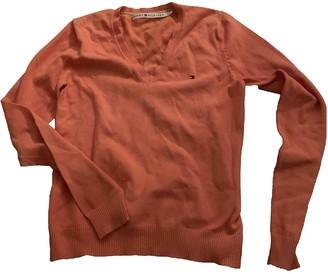 Tommy Hilfiger Orange Cotton Knitwear for Women