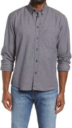 Billy Reid Tuscumbia Standard Fit Plaid Cotton Button-Down Sport Shirt