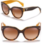 Prada Timeless Heritage Round Sunglasses, 54mm