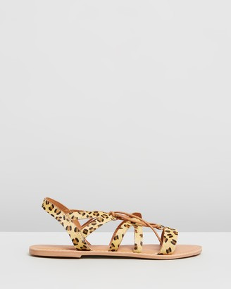 Dorothy Perkins Wide Fit Joy Lace-Up Sandals