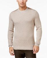 Tasso Elba Men's Silk Cotton Sweater, Only at Macy's