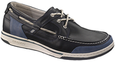 Sebago Triton 3-eyelet Leather Boat Shoes, Night
