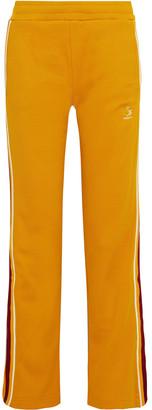 Twenty Montreal Striped Cotton-blend Mesh Track Pants