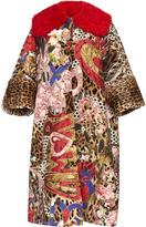 Dolce & Gabbana Oversized Printed Coat