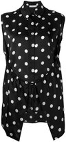Christian Wijnants polka dot patterned top - women - Silk - 36