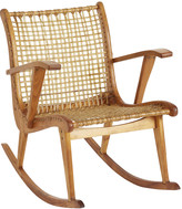 Rejuvenation Mid-Century Modern W.F. Tubbs Sno Shu Rocking Chair
