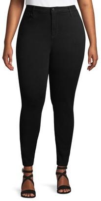 No Boundaries Juniors' Plus Size Classic Skinny Jeans