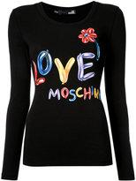 Love Moschino balloon logo T-shirt