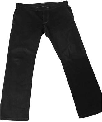 Bottega Veneta Black Cotton Jeans