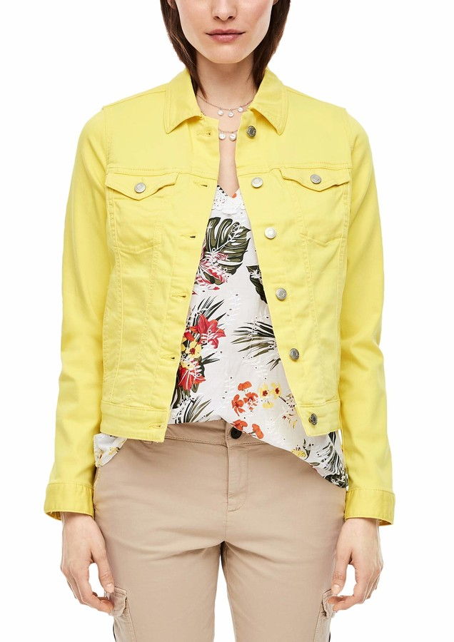 Thumbnail for your product : S'Oliver Women's 120.10.003.26.150.2030168 Denim Jacket