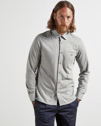 Ted Baker JERZEST Cotton blend jersey shirt