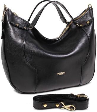 Chiarugi Genuine Leather Top-Handle Bag
