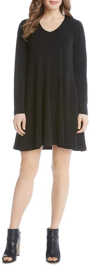 Karen Kane Taylor Long Sleeve Trapeze Dress