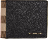 Burberry Black Hipfold Wallet