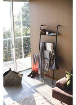 Yamazaki Tower Leaning Ladder With Shelf